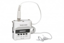 Digital Audio Recorder with Lavalier Mic (White)