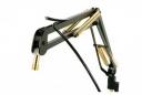 ProBoom Elite Mic Arm w/Clamp (Chrome and Gold/Black)